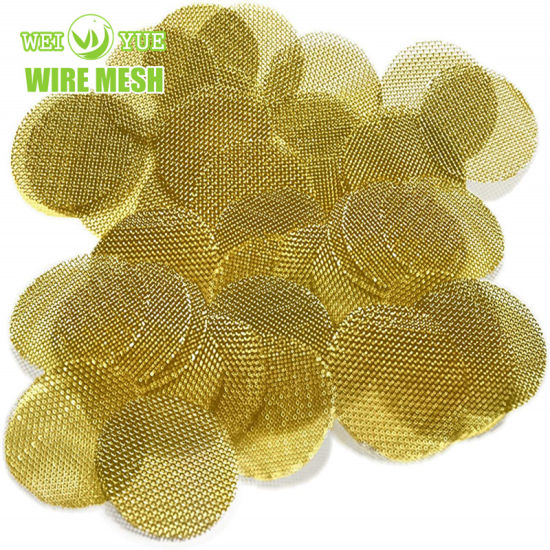 100 200 Micron 304 Stainless Steel/ Copper Wire Mesh Circular Filter Disc pictures & photos