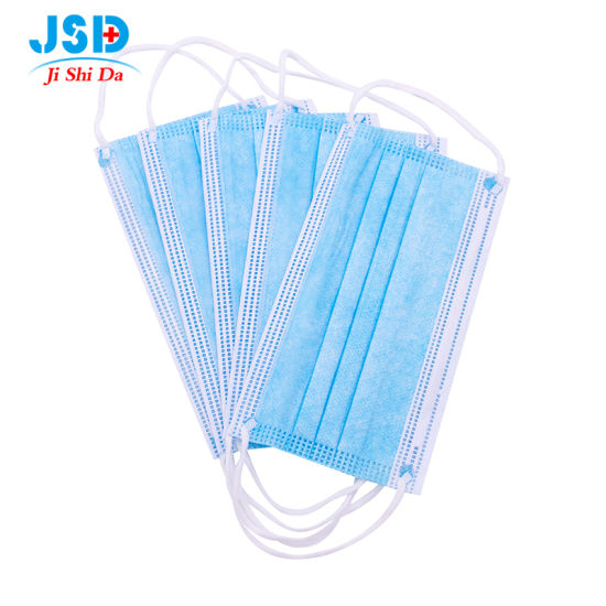 Factory Direct Sales Antibacterial 3 Ply Disposable Non-Woven Face Mask