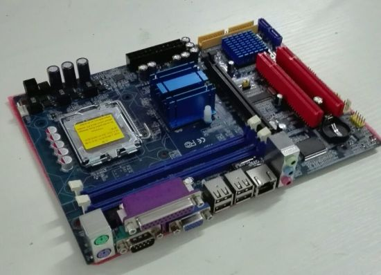 Djs Tech Promotion Products 945-775-M Support 2*DDR2 Mainboard with Good Market in India pictures & photos