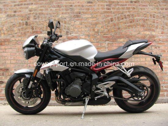 Hot Popular Street Triple R Matt Aluminium Silver Motorcycle