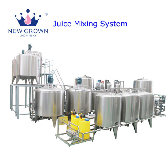 China Concentrated Juice Mixing Production Line