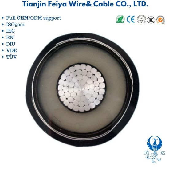 Tianjin Port XLPE Cable Insulated PVC Sheath Power Cable Yjlv 0.6/1kv