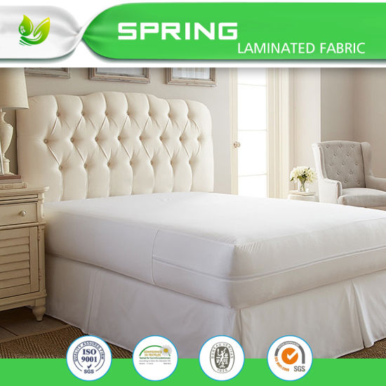 China Hypoallergenic Zipper Mattress Cover For Bed Wetting China