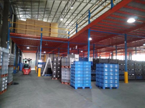 Warehouse Mazzanine Floor for Racking Storage pictures & photos