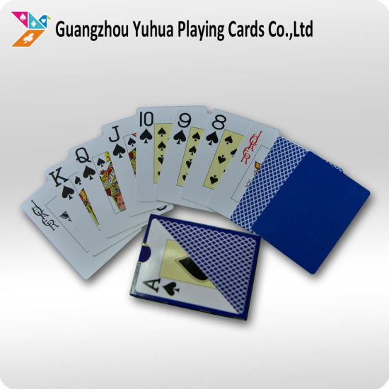 Custom Design 100% Plastic Adult Playing Card Poker pictures & photos