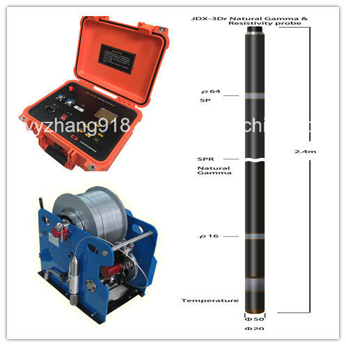 1000m Borehole Geophysical Logging and Well Log for Ground Water and Environmental Study