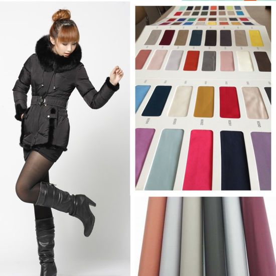 75D 240t Polyester Pongee Fabric for Garment Shell or Lining