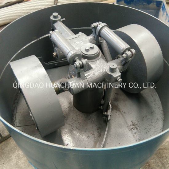 Roller Type Foundry Green Sand Mixer