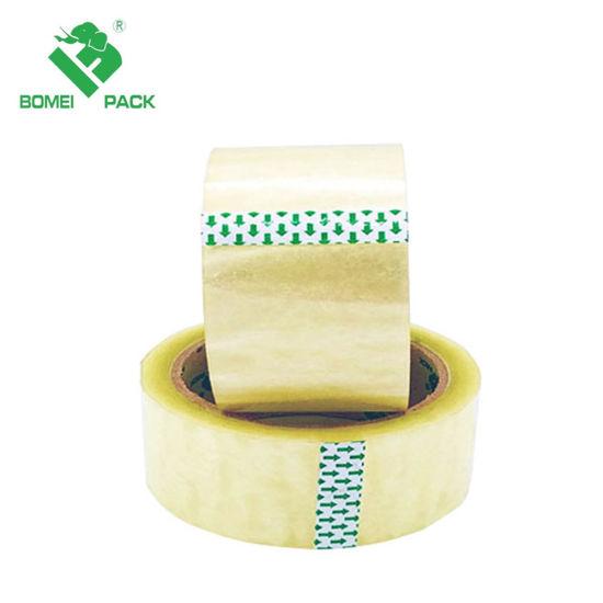 BOPP Hotmelt Waterproof Adhesive Packing Tape Transparent