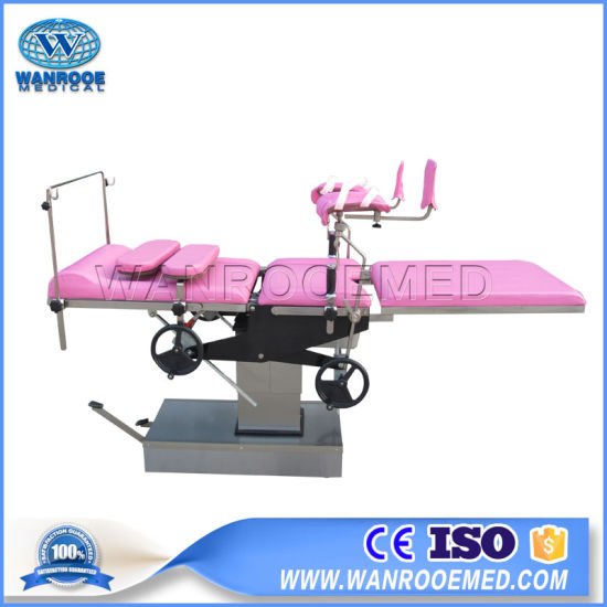 a-2003/2003A Medical Hydraulic Portable Examination Birthing Obstetric  Delivery Bed