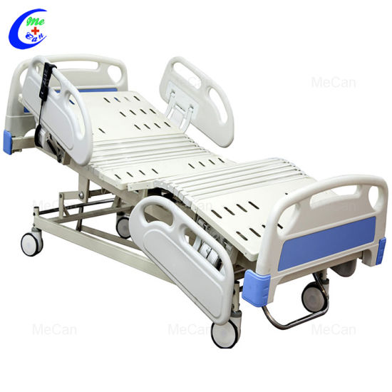 Medical Furniture Medical ICU 5 Function Electric Nursing Hospital Bed pictures & photos