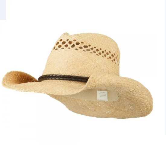 7f9e33221 China Design Fashion Natural Women′s Vented Western Cowboy Paper Hat ...