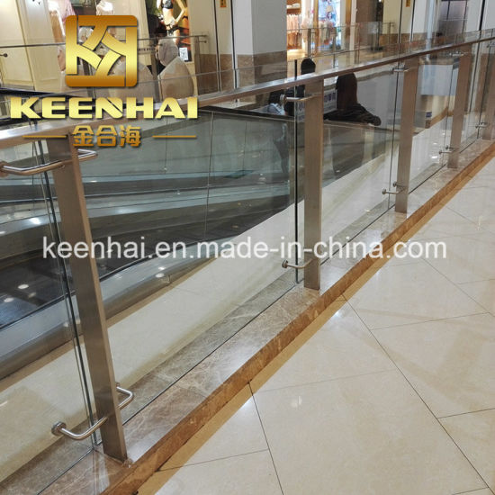 Indoor Stainless Steel Glass Balcony Balustrade Handrail Railing pictures & photos