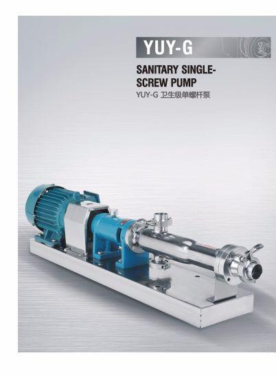 Stainless Steel Single Screw Pump