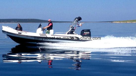 China 22 Feet Row Rib Boats for Sale Leisure Luxury Yacht