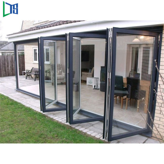Ready Made Modern Manufacturers Black Aluminium Folding Doors Types Of Slimline Custom Best