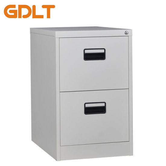 Grey Metal Office Hanging File Filing Cabinet Storage Cupboard with 5 Drawers UK