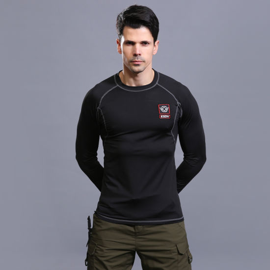 Black (ESDY) Tactical Training Thermal Underwear Set for Outdoor Sports pictures & photos