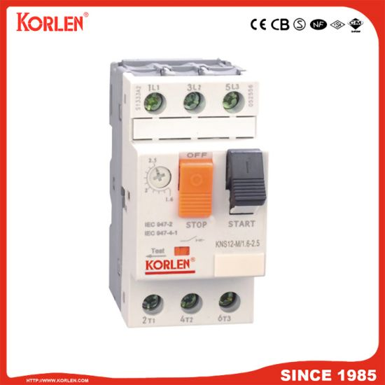 Thermomagnetic Guard Motor Sarter Moulded Case Circuit Breaker Kns12
