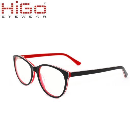 2018 Low Price Cat Eye Wholesale Eyeglasses Acetate Eyewear
