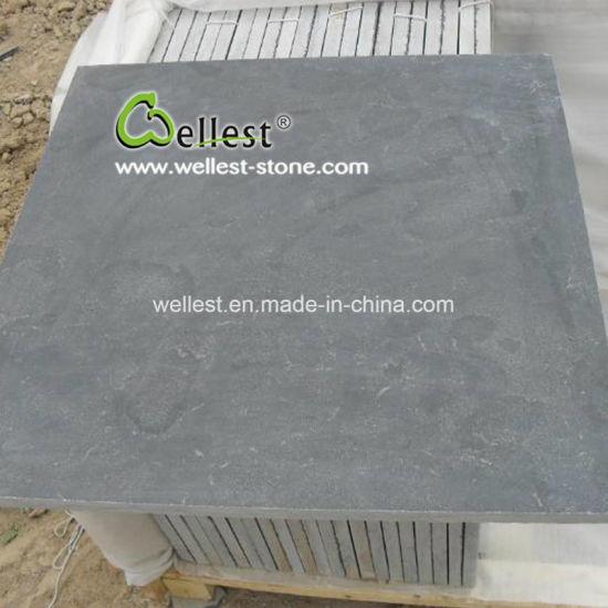 China Honed/Flamed/Sandblasted/Acid Washed Bluestone Blue