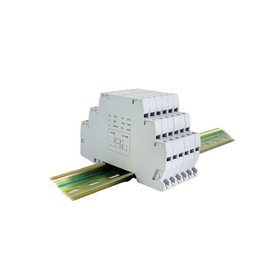 RS485 Data Surge Protection High Shielding Control Lightning Protector Surge SPD Device pictures & photos