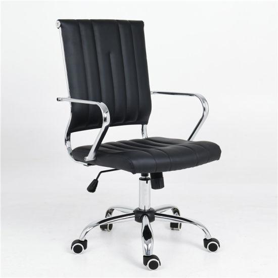 Comfortable Soft Pad Ergonomic Leather Office Chair/Modern Swivel Manger