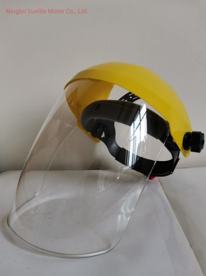 PP Industrial Safety Clear Face Shield for Sale