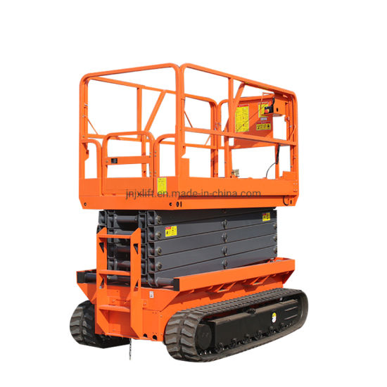 6-14m 200kg 500kg Cheap Price Hydraulic Battery Power Electric Scissor Lift with Ce ISO Certification
