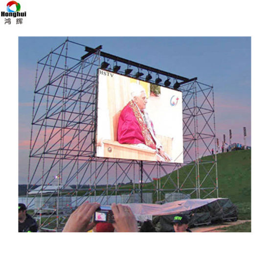Epistar Chip P5 P6 Outdoor Advertising Rental LED Display Video Wall