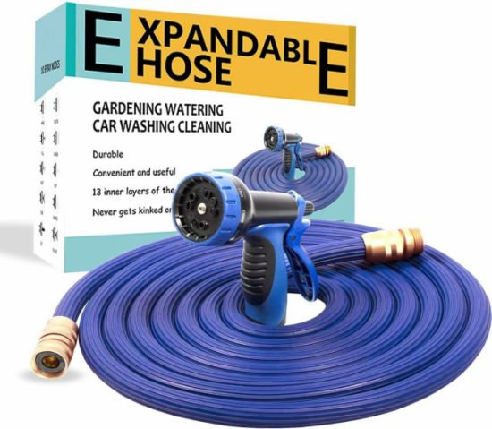 New TPE Synthetic 3X Expandable Garden Hose