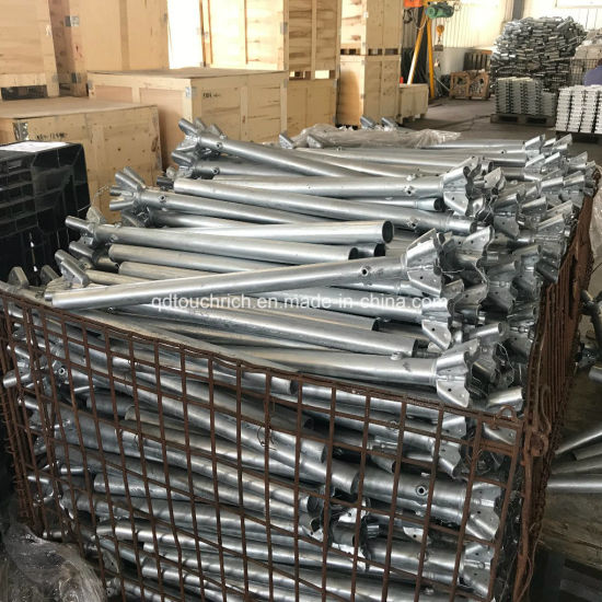 Anti-Rust Construction Steel Stand with Galvanizing Finish
