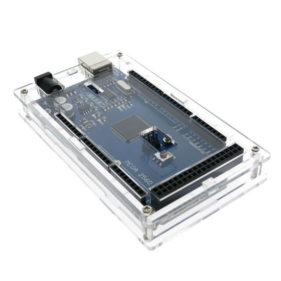 1 Stücke Acryl Transparent Case Shell Gehäuse Glanz Box Für Arduino Mega 2560 yc