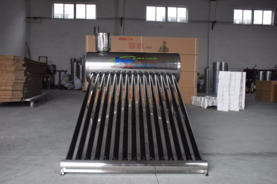 Stock Price Non Pressure Solar Energy Hot Water Heaters