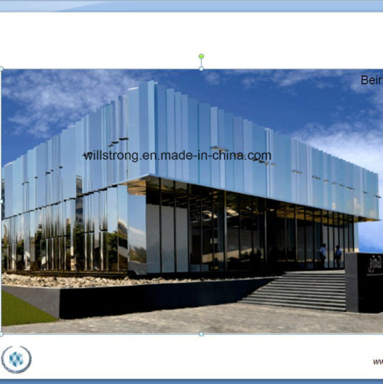 Anodized Aluminum Composite Panel Acm with Mirror Surface pictures & photos