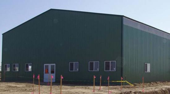 Prefabricated Logistics Light Steel Structure Warehouse (KXD-SSB36) pictures & photos