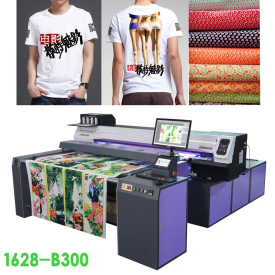 China Multi-Function Digital Printing Machine for Fabric Roll to
