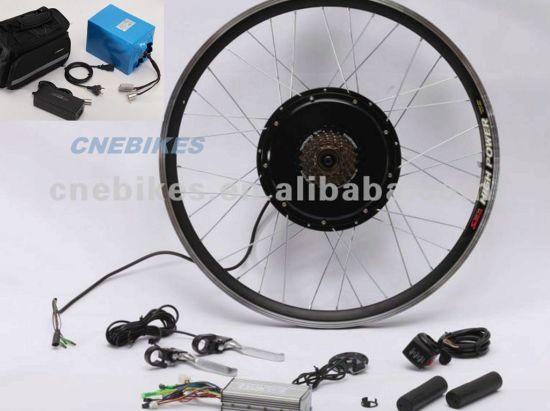 China 48V 1000W Hub Motor Wheel Electric Bicycle Kit - China