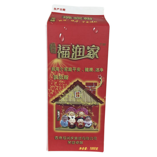 2000ml 3 Layer Powder Gable Top Box pictures & photos