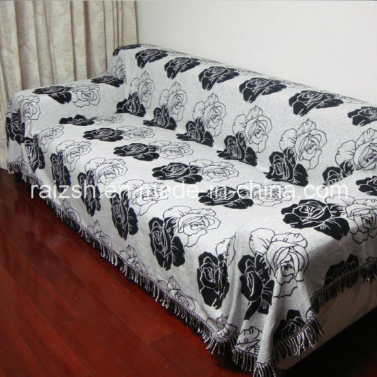 Classic Black and White Series Sofa Cover Cloths pictures & photos