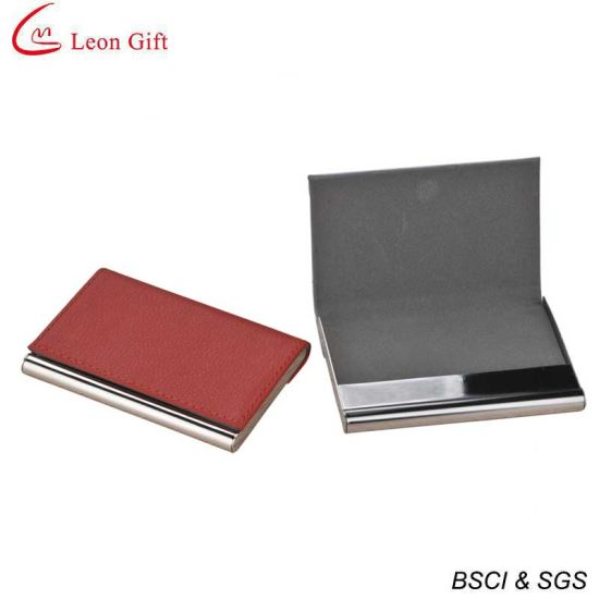 China customized shape leather business card holder china card customized shape leather business card holder reheart Gallery