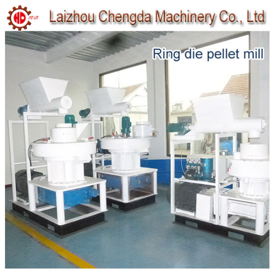 Wheat Stalk Husk Ring Die Pellet Making Machine Ce pictures & photos