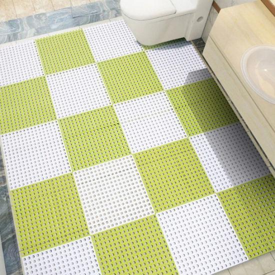 China Pvc Interlocking Floor Tile, Interlocking Floor Tiles Bathroom