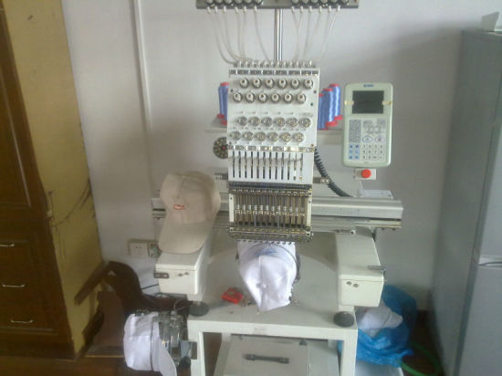 Hye-C1501/Single Head Cap &Garment Embroidery Machine pictures & photos