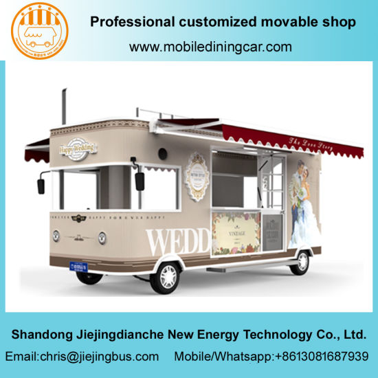 5 Meters Exhibition Mobile Truck with Light Box for Sale