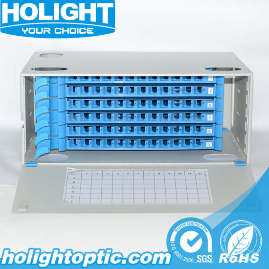 Pull Type Optical Distribution Frame Sc Port Rack Mounted Indoor Fiber Patch Panel pictures & photos