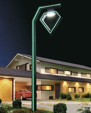 Outdoor Modern Simple Aluminum Villa School LED Waterproof Street for Lighting
