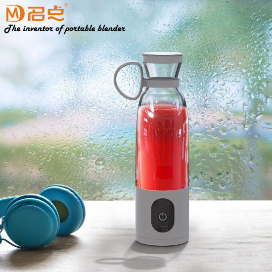 Electric USB Rechargeable Portable Wireless Fruit Juicer Blender Machine