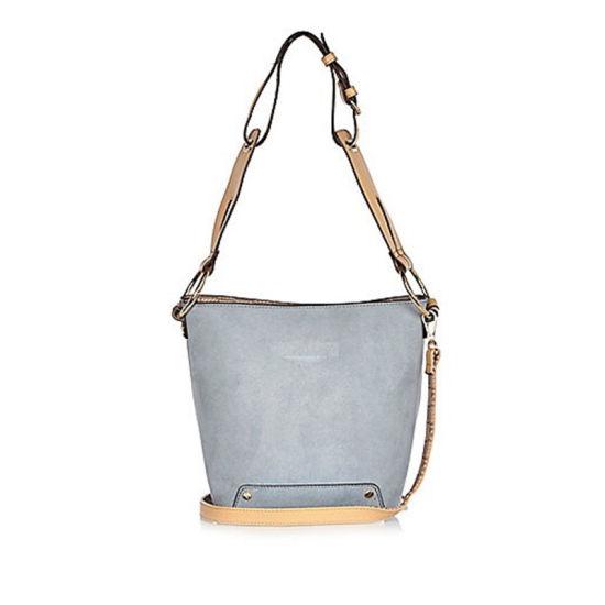 7ffac5fb60a New Trendy Blue Slouchy Bucket Handbags Shoulder Bags for Women. Get Latest  Price