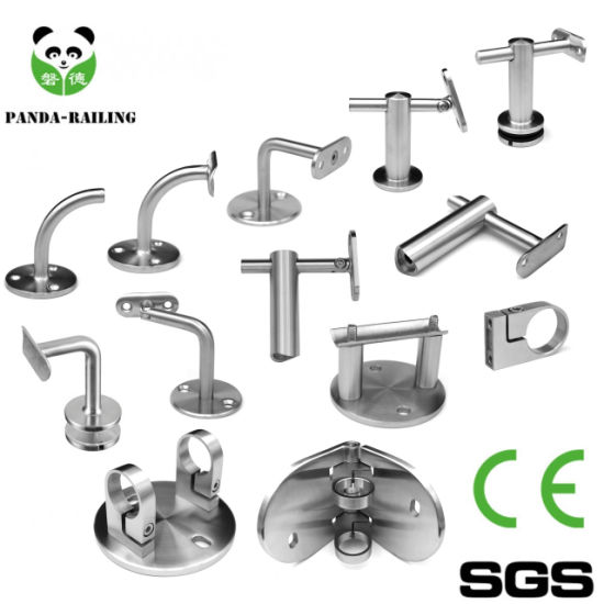 Stainless Steel Glass Railing and Stair Handrail Fitting Bracket pictures & photos